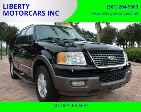 2005 Ford Expedition for sale at LIBERTY MOTORCARS INC in Royal Palm Beach FL