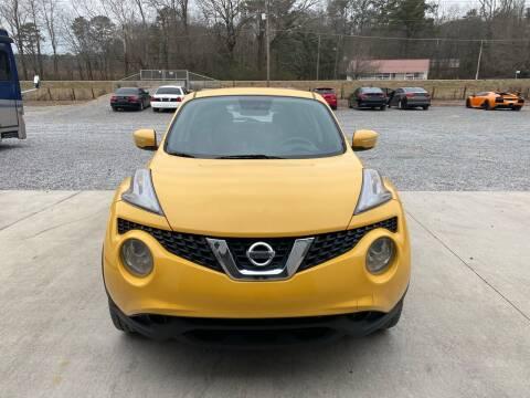2015 Nissan JUKE for sale at Alpha Automotive in Odenville AL