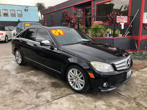 2009 Mercedes-Benz C-Class for sale at The Lot Auto Sales in Long Beach CA