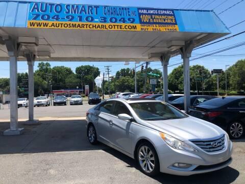 2012 Hyundai Sonata for sale at Auto Smart Charlotte in Charlotte NC