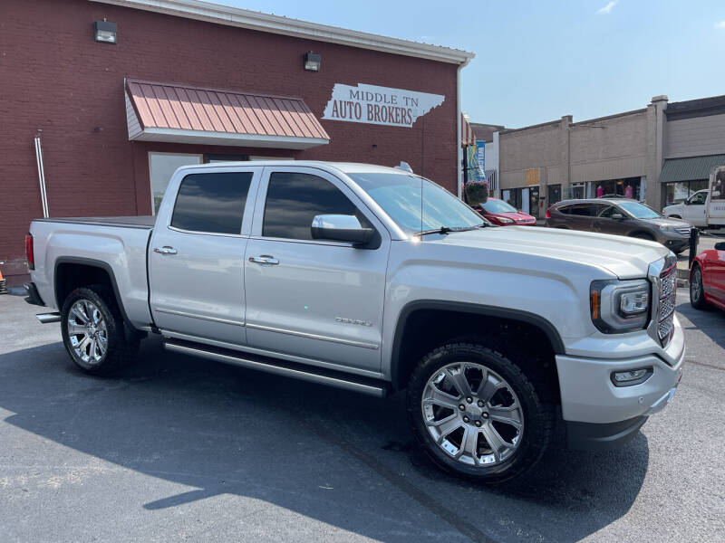 2018 GMC Sierra 1500 for sale at Middle Tennessee Auto Brokers LLC in Gallatin TN