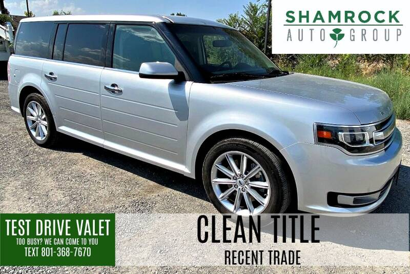 2017 Ford Flex for sale at Shamrock Group LLC #1 in Pleasant Grove UT