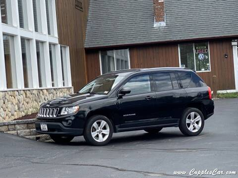 2012 Jeep Compass for sale at Cupples Car Company in Belmont NH