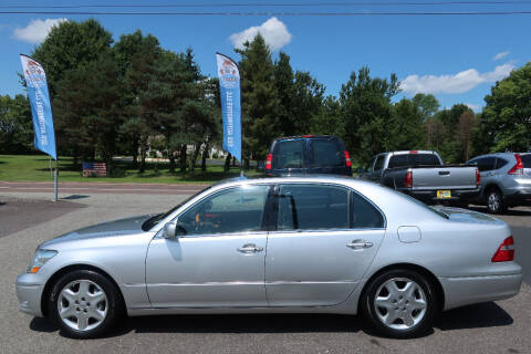 2004 Lexus LS 430 for sale at GEG Automotive in Gilbertsville PA