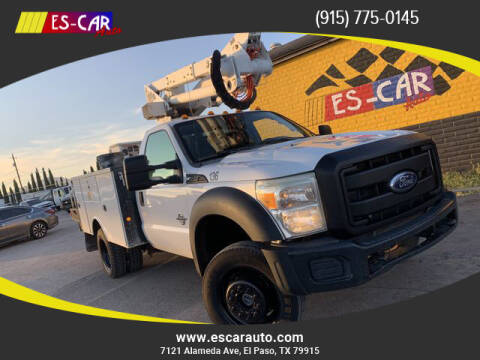 2011 Ford F-550 Super Duty for sale at Escar Auto - 9809 Montana Ave Lot in El Paso TX