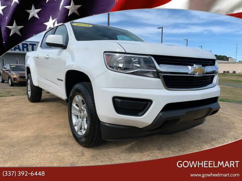 2020 Chevrolet Colorado for sale at GOWHEELMART in Leesville LA