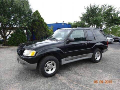 2002 Ford Explorer Sport for sale at HOUSTON'S BEST AUTO SALES in Houston TX