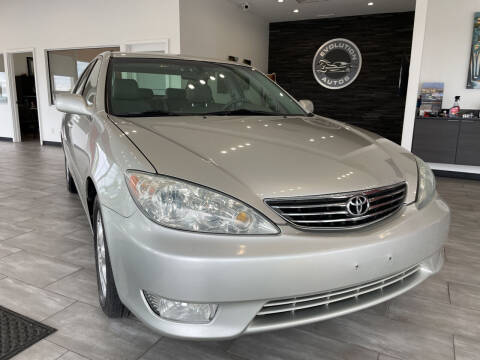 2005 Toyota Camry for sale at Evolution Autos in Whiteland IN
