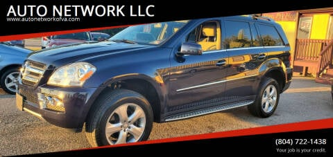 2011 Mercedes-Benz GL-Class for sale at AUTO NETWORK LLC in Petersburg VA