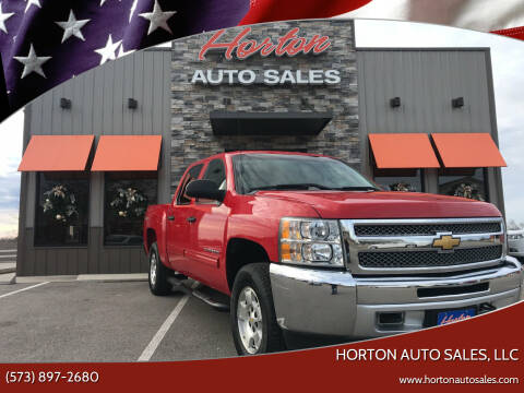 2012 Chevrolet Silverado 1500 for sale at HORTON AUTO SALES, LLC in Linn MO