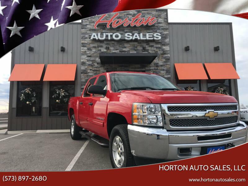 2012 Chevrolet Silverado 1500 for sale at HORTON AUTO SALES, LLC in Linn MO