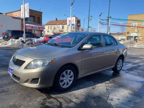 2009 Toyota Corolla for sale at Latino Motors in Aurora IL