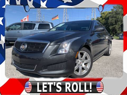 2014 Cadillac ATS for sale at Das Autohaus Quality Used Cars in Clearwater FL