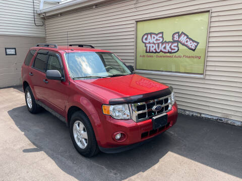 2012 Ford Escape for sale at Cars Trucks & More in Howell MI