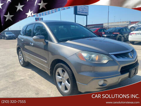 2007 Acura RDX for sale at Car Solutions Inc. in San Antonio TX