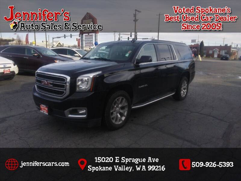 2017 GMC Yukon XL for sale at Jennifer's Auto Sales in Spokane Valley WA