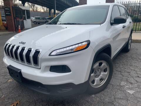 2015 Jeep Cherokee for sale at B & Z Auto Sales LLC in Delran NJ