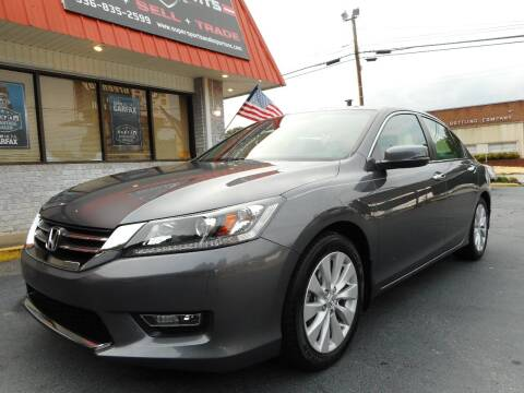 2013 Honda Accord for sale at Super Sports & Imports in Jonesville NC