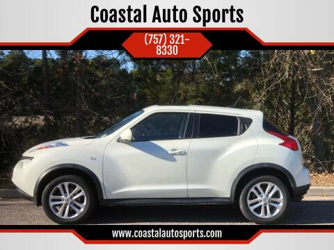 2012 Nissan JUKE for sale at Coastal Auto Sports in Chesapeake VA