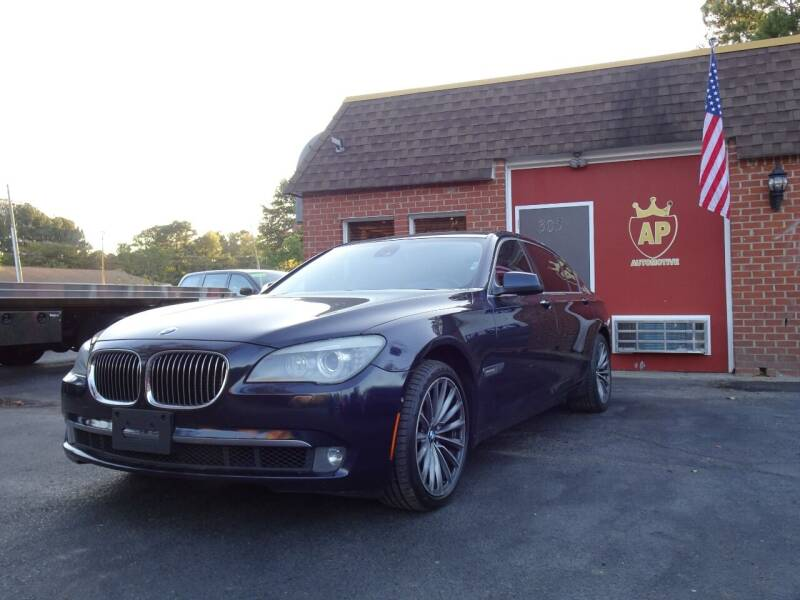 2011 BMW 7 Series for sale at AP Automotive in Cary NC
