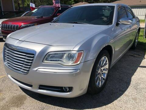 2012 Chrysler 300 for sale at Lion Auto Finance in Houston TX