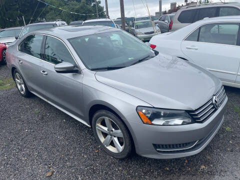 2013 Volkswagen Passat for sale at Trocci's Auto Sales in West Pittsburg PA