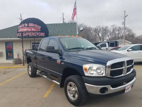 2009 Dodge Ram Pickup 2500 for sale at DICK'S MOTOR CO INC in Grand Island NE