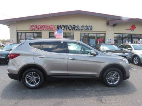 2017 Hyundai Santa Fe Sport for sale at Cardinal Motors in Fairfield OH