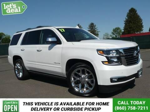 2017 Chevrolet Tahoe for sale at Shamrock Motors in East Windsor CT