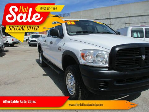2008 Dodge Ram Pickup 2500 for sale at Affordable Auto Sales in Olathe KS