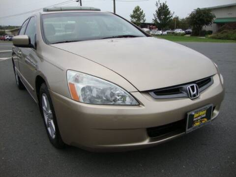 2003 Honda Accord for sale at Shell Motors in Chantilly VA
