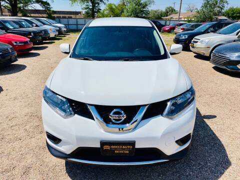 2016 Nissan Rogue for sale at Good Auto Company LLC in Lubbock TX