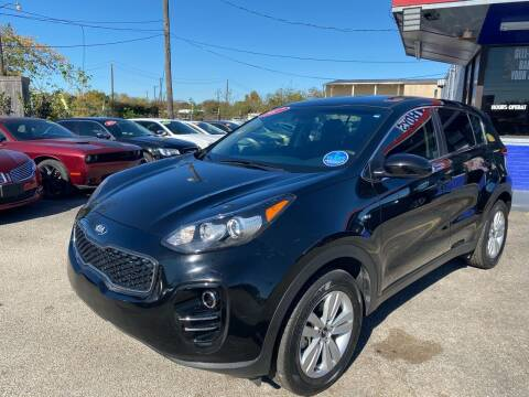 2017 Kia Sportage for sale at Cow Boys Auto Sales LLC in Garland TX