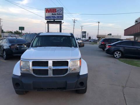 2011 Dodge Nitro for sale at MB Auto Sales in Oklahoma City OK