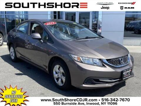2013 Honda Civic for sale at South Shore Chrysler Dodge Jeep Ram in Inwood NY
