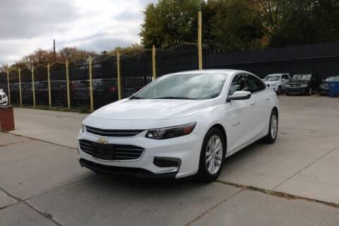 2018 Chevrolet Malibu for sale at F & M AUTO SALES in Detroit MI