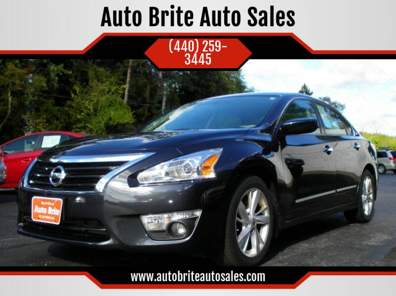 2015 Nissan Altima for sale at Auto Brite Auto Sales in Perry OH