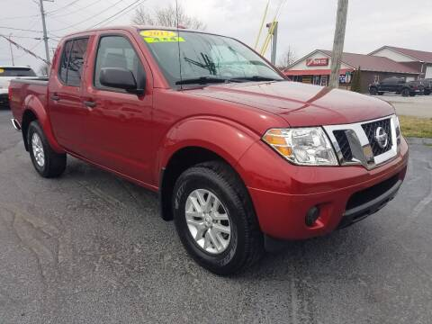 2017 Nissan Frontier for sale at Moores Auto Sales in Greeneville TN