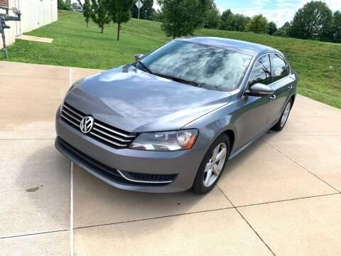 2012 Volkswagen Passat for sale at Cartopia Auto Sales in Saint Louis MO