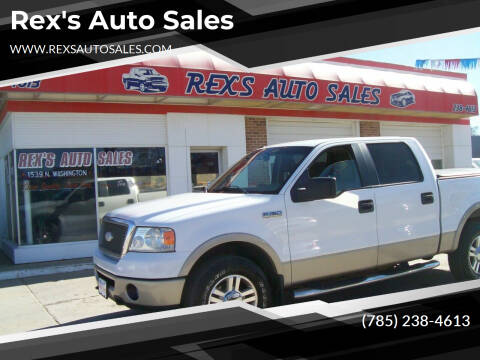 2007 Ford F-150 for sale at Rex's Auto Sales in Junction City KS