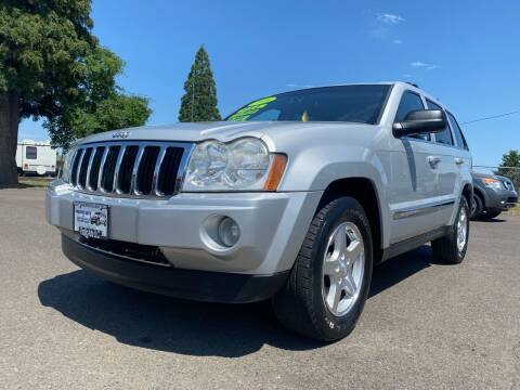 2006 Jeep Grand Cherokee for sale at Pacific Auto LLC in Woodburn OR