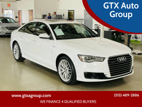 2016 Audi A6 for sale at GTX Auto Group in West Chester OH