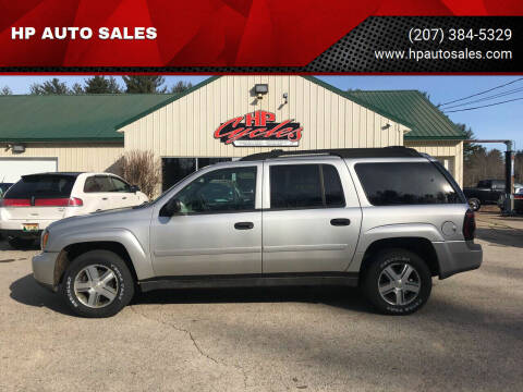 2006 Chevrolet TrailBlazer EXT for sale at HP AUTO SALES in Berwick ME