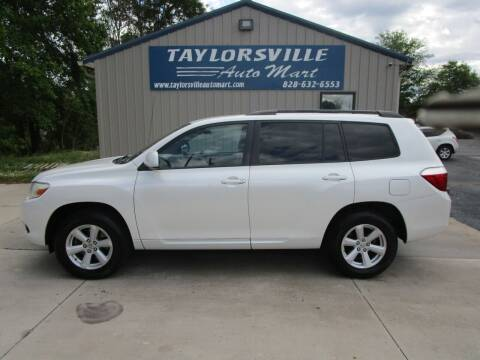 2010 Toyota Highlander for sale at Taylorsville Auto Mart in Taylorsville NC