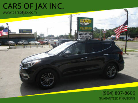 2017 Hyundai Santa Fe Sport for sale at CARS OF JAX INC. in Jacksonville FL