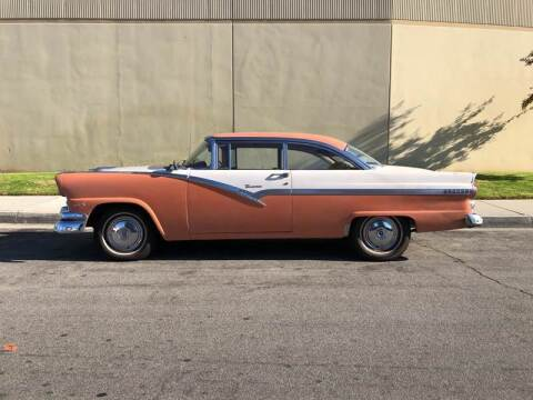 1956 Ford Fairlane for sale at HIGH-LINE MOTOR SPORTS in Brea CA