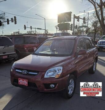 2009 Kia Sportage for sale at Corridor Motors in Cedar Rapids IA