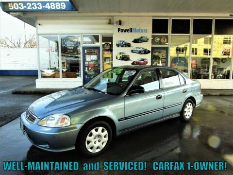 2000 Honda Civic for sale at Powell Motors Inc in Portland OR