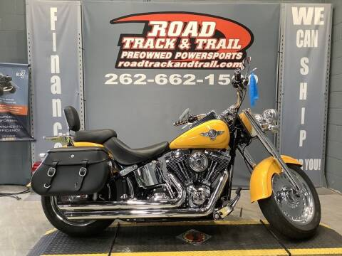 2012 Harley-Davidson® FLSTF - Softail® Fat Boy& for sale at Road Track and Trail in Big Bend WI