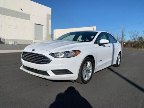 2018 Ford Fusion Hybrid for sale at Dulles Cars in Sterling VA